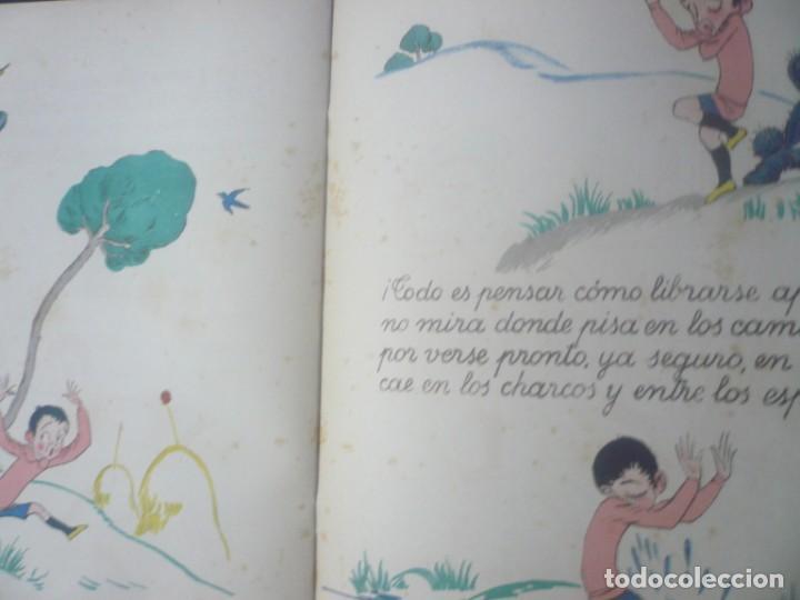 Libros antiguos: La Campana que Anda de Goethe. Ilustrado por Obiols. Muntañola 1920. - Foto 5 - 194173247