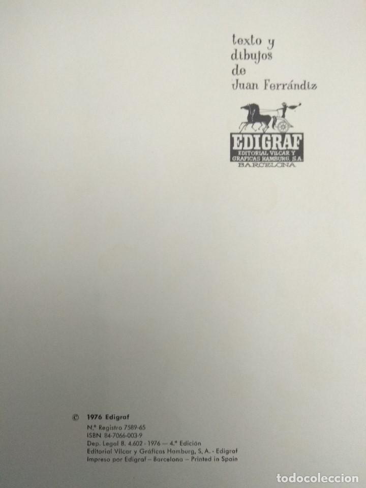 Libros antiguos: CUENTO TROQUELADO PASEN SEÑORES PASEN VERAN EL MARAVILLOSO CIRCO TEXTO /DIBUJOS JUAN FERRANDIZ 1976 - Foto 5 - 194181415
