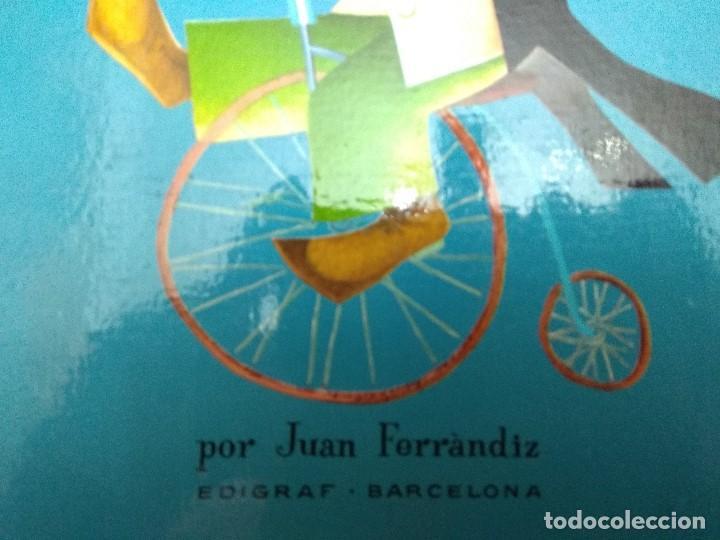 Libros antiguos: CUENTO TROQUELADO PASEN SEÑORES PASEN VERAN EL MARAVILLOSO CIRCO TEXTO /DIBUJOS JUAN FERRANDIZ 1976 - Foto 6 - 194181415