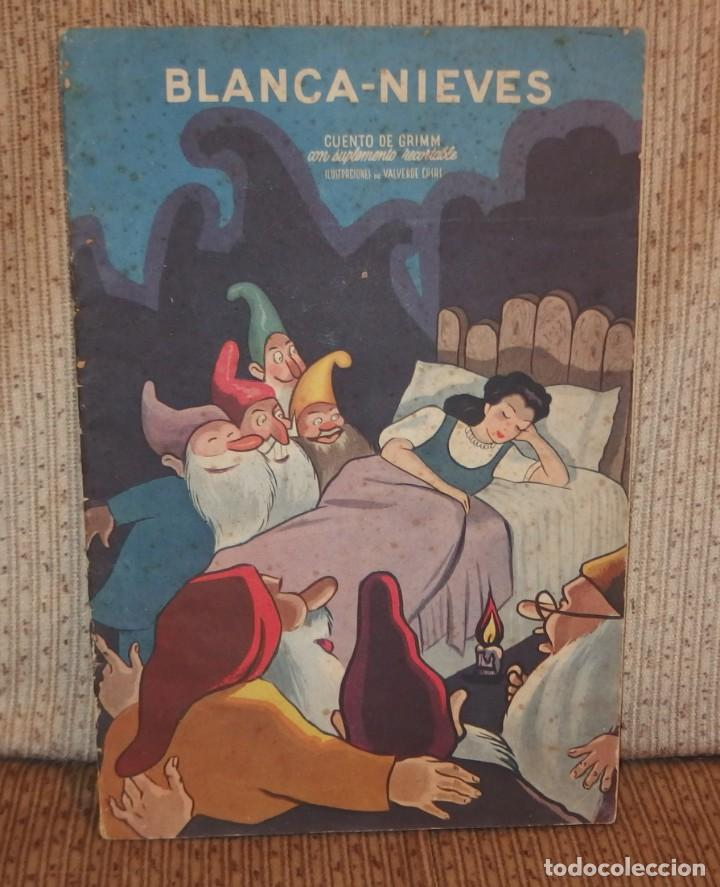 BLANCA-NIEVES CON SUPLEMENTO RECORTABLE,EDICIONES ORVY S.L.,AÑO 1940 (Libros Antiguos, Raros y Curiosos - Literatura Infantil y Juvenil - Cuentos)