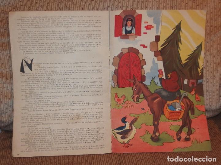 Libros antiguos: BLANCA-NIEVES CON SUPLEMENTO RECORTABLE,EDICIONES ORVY S.L.,AÑO 1940 - Foto 5 - 194182498