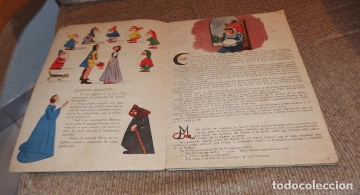 Libros antiguos: BLANCA-NIEVES CON SUPLEMENTO RECORTABLE,EDICIONES ORVY S.L.,AÑO 1940 - Foto 8 - 194182498