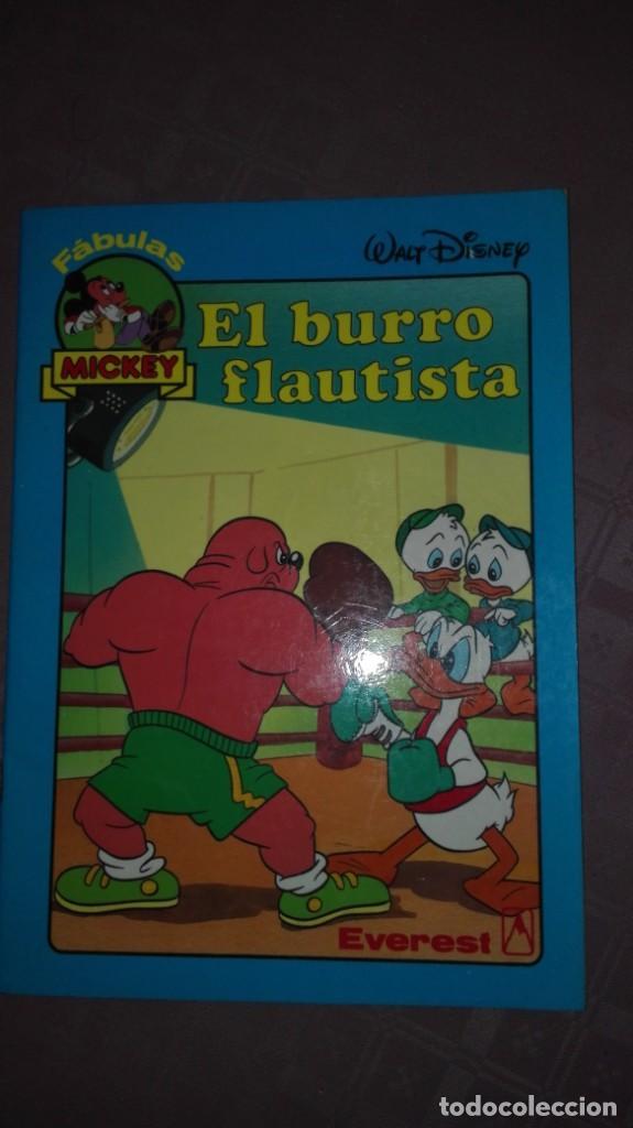 EL BURRO FLAUTISTA (Libros Antiguos, Raros y Curiosos - Literatura Infantil y Juvenil - Cuentos)