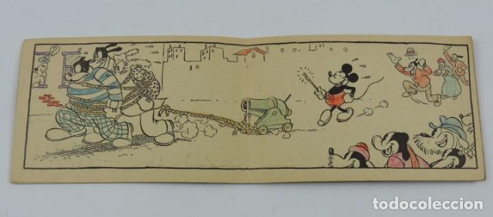 Libros antiguos: Cuaderno Mickey detective, cuaderno de dibujos, walt disney n.19, mide 11,5 x 7,5 cms. Ilustraciones - Foto 3 - 194285582