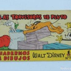 Libros antiguos: CUADERNO MICKEY DETECTIVE, CUADERNO DE DIBUJOS, WALT DISNEY N.23, MIDE 11,5 X 7,5 CMS. ILUSTRACIONES. Lote 194285721