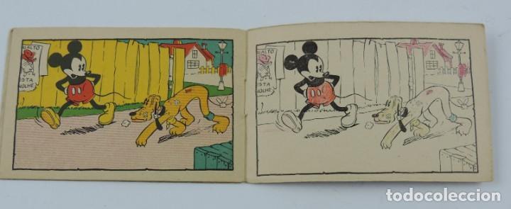 Libros antiguos: Cuaderno Mickey detective, cuaderno de dibujos, walt disney n.23, mide 11,5 x 7,5 cms. Ilustraciones - Foto 2 - 194285721
