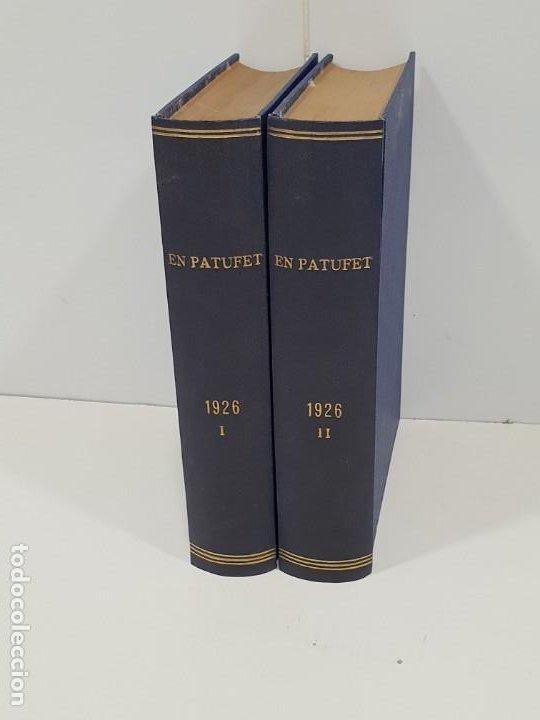EN PATUFET 2 TOMOS ENCUADERNADOS AÑO 1926 (Libros Antiguos, Raros y Curiosos - Literatura Infantil y Juvenil - Cuentos)