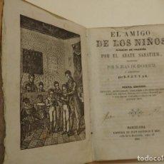 Libros antiguos: EL AMIGO DE LOS NIÑOS.. Lote 194323392