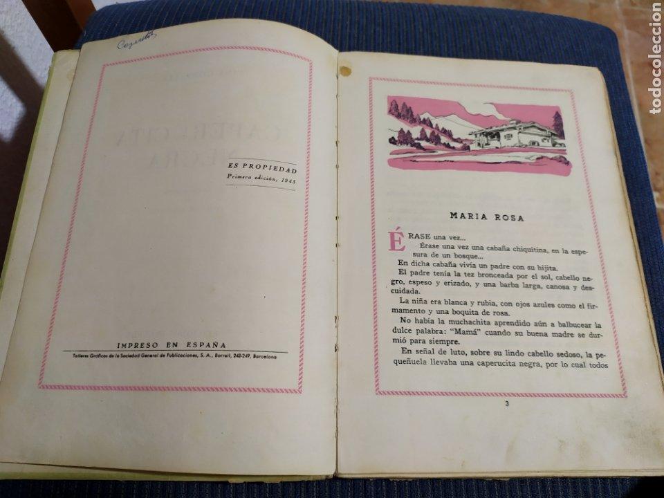 Libros antiguos: antiguo cuento caperucita negra pina gonzalez primera edicion 1943 - Foto 3 - 194333768