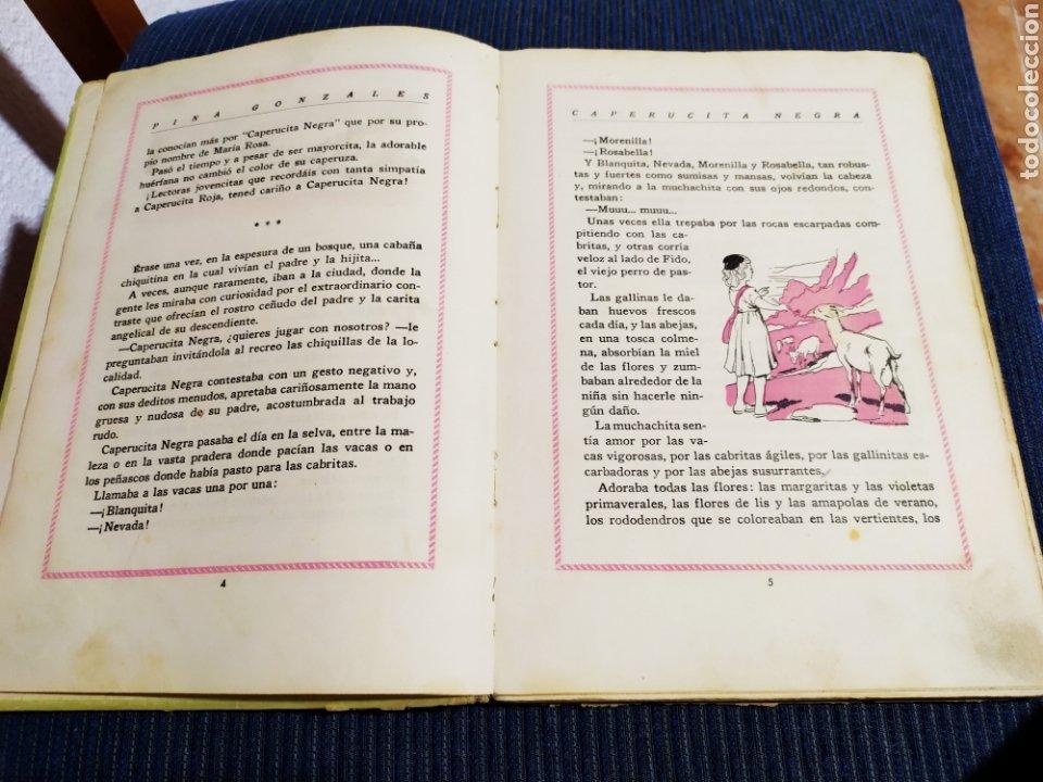 Libros antiguos: antiguo cuento caperucita negra pina gonzalez primera edicion 1943 - Foto 4 - 194333768