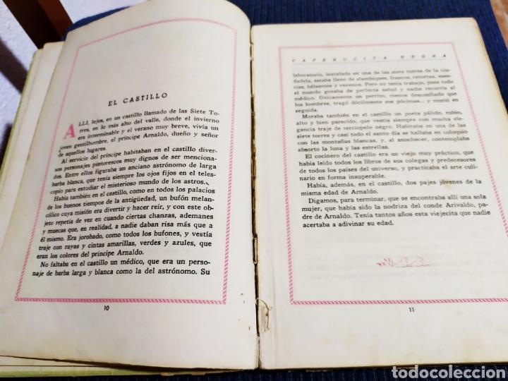 Libros antiguos: antiguo cuento caperucita negra pina gonzalez primera edicion 1943 - Foto 5 - 194333768