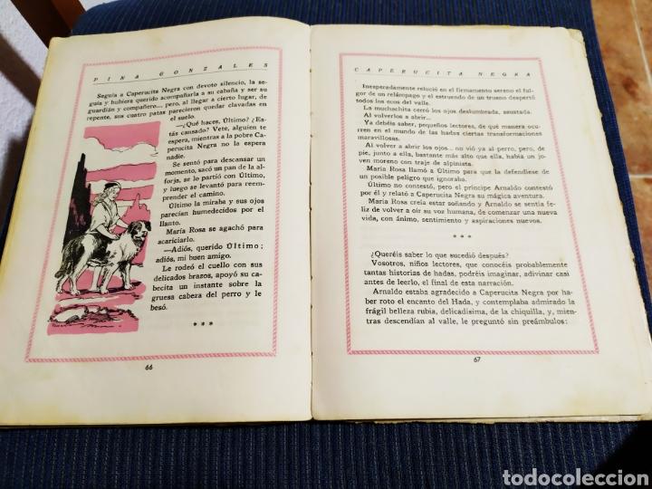 Libros antiguos: antiguo cuento caperucita negra pina gonzalez primera edicion 1943 - Foto 10 - 194333768