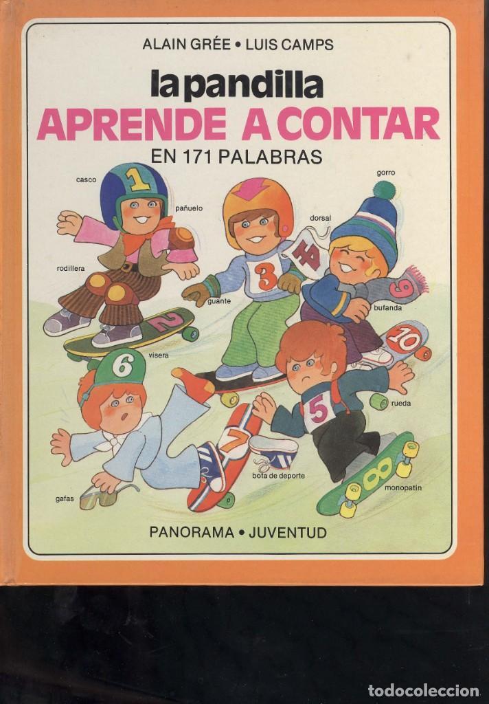 COLECCION LA PANDILLA DE PANORAMA JUVENTUD 3 LIBROS CARRETERA, ZOO, APRENDE A CONTAR (Libros Antiguos, Raros y Curiosos - Literatura Infantil y Juvenil - Cuentos)