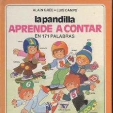Libros antiguos: COLECCION LA PANDILLA DE PANORAMA JUVENTUD 3 LIBROS CARRETERA, ZOO, APRENDE A CONTAR. Lote 194348753