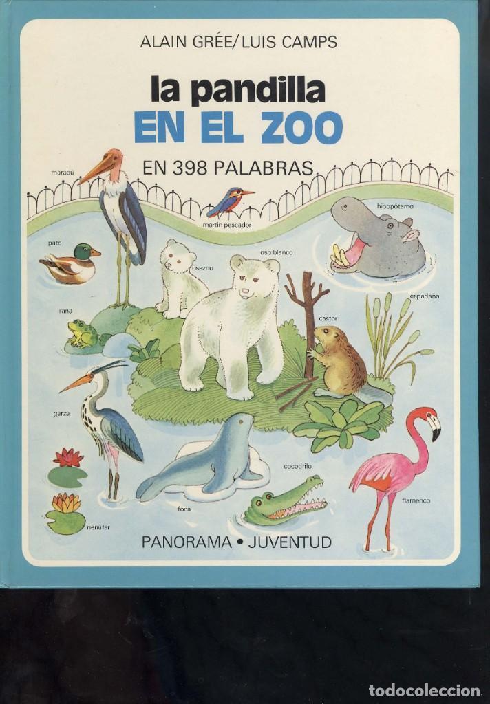 Libros antiguos: coleccion la pandilla de panorama juventud 3 libros carretera, zoo, aprende a contar - Foto 2 - 194348753