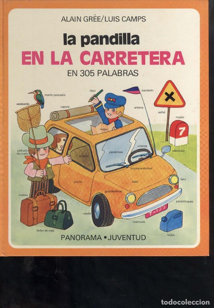 Libros antiguos: coleccion la pandilla de panorama juventud 3 libros carretera, zoo, aprende a contar - Foto 3 - 194348753