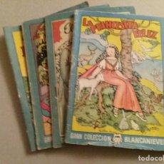 Libros antiguos: 4 CUENTOS PEQUEÑOS GRAN COLECCIÓN BLANCANIEVES.. Lote 194511770