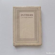 Libros antiguos: LIBRERIA GHOTICA. LIBRO MINIATURA J.B. PAGÉS MARUNY. INTIMAS. 1942.. Lote 194544006