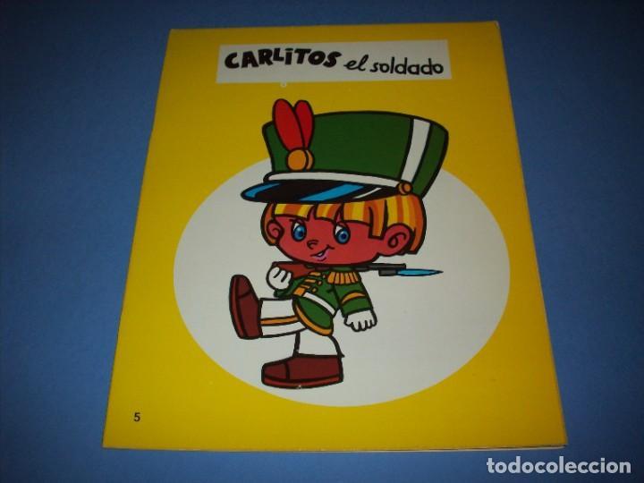 CARLITOS EL SOLDADO SERIE LINDA (Libros Antiguos, Raros y Curiosos - Literatura Infantil y Juvenil - Cuentos)