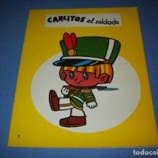 Libros antiguos: CARLITOS EL SOLDADO SERIE LINDA. Lote 194585738