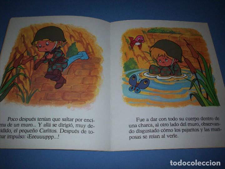Libros antiguos: carlitos el soldado serie linda - Foto 2 - 194585738