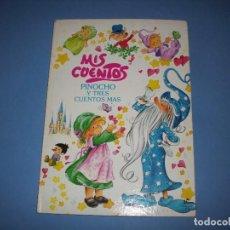 Libros antiguos: MIS CUENTOS PINOCHO Y TRES CUENTOS MAS, COLECCION ESTRELLA. Lote 194587221