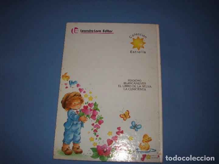 Libros antiguos: mis cuentos pinocho y tres cuentos mas, coleccion estrella - Foto 3 - 194587221