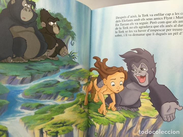 Libros antiguos: Colección Disney Catalán TARZAN . Cadi edicions. Els Clássics - Foto 3 - 194592412