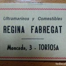 Libros antiguos: ELVIEJO CABALLO Nº 75 COLECCIÓN GACELA. PUBLICIDAD ULTRAMARINOS COMESTIBLES REGINA FABREGAT, TORTOSA. Lote 194609328