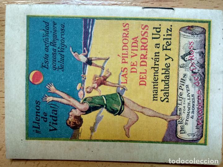Libros antiguos: ANDRESILLO Y SU VIOLÍN. Publicidad Píldoras de vida del Dr. Ross - Foto 2 - 194609918