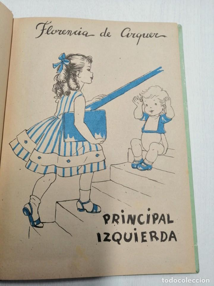 Libros antiguos: 2 CUENTOS DE JEMI NAUVER Y FLORENCIA DE ARQUER. LAS CHICAS DEL INTERNADO Y PRINCIPAL IZQUIERDA 1ª ED - Foto 4 - 194626168