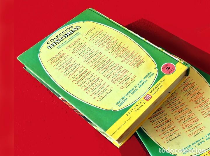 Libros antiguos: OTRA VEZ HEIDI, POR JUANA SPYRI - COLECCIÓN HISTORIAS Nº 50 - BRUGUERA 1961 - TAPA DURA - ORIGINAL - Foto 3 - 194632302
