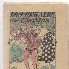 Libros antiguos: LOS REGALOS DE LOS GNOMOS. CUENTOS DE EL HOGAR Y LA MODA. 10X8 CM. 16 P. . Lote 194679721