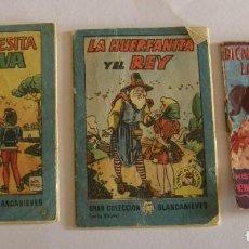 Libros antiguos: 3 ANTIGUOS CUENTOS EN MINIATURA. Lote 194684347