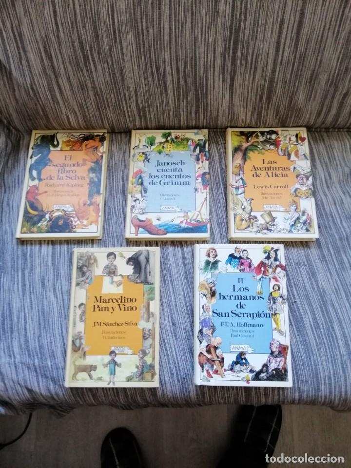 LOTE CUENTOS ANAYA. LAURIN (Libros Antiguos, Raros y Curiosos - Literatura Infantil y Juvenil - Cuentos)