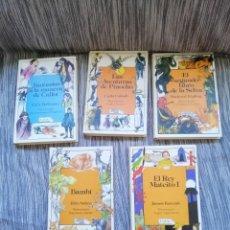 Libros antiguos: LOTE CUENTOS ANAYA LAURIN. . Lote 194770652