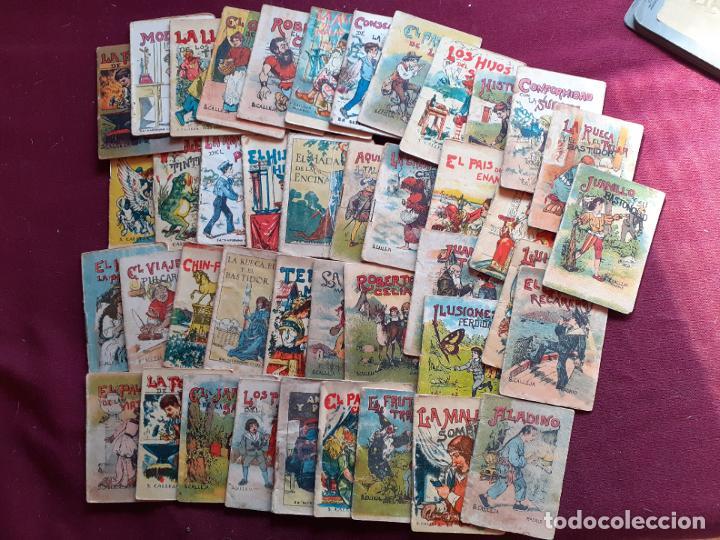 LOTE DE 42 CUENTOS DE CALLEJA. ORIGINALES ANTIGUOS (Libros Antiguos, Raros y Curiosos - Literatura Infantil y Juvenil - Cuentos)