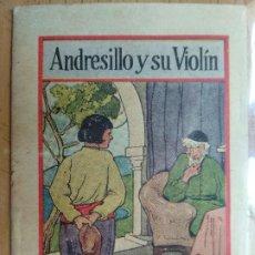 Libros antiguos: ANDRESILLO Y SU VIOLÍN. PUBLICIDAD PÍLDORAS DE VIDA DEL DR. ROSS. Lote 194893187