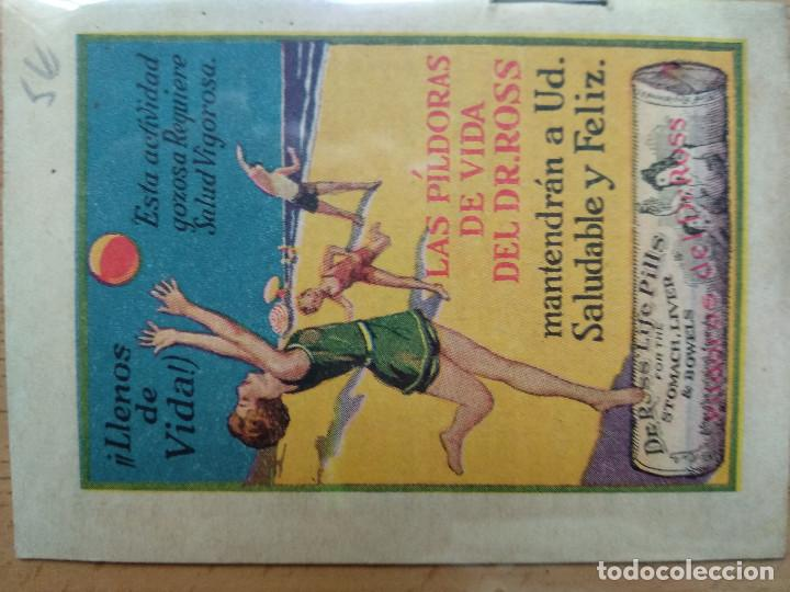 Libros antiguos: ANDRESILLO Y SU VIOLÍN. Publicidad Píldoras de vida del Dr. Ross - Foto 2 - 194893187