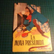 Libros antiguos: CUENTOS TORAY. Nº 116. LA MONA PRESUMIDA. Lote 194976597