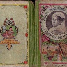 Libros antiguos: PILAR SINUES DE MARCO . CUENTOS DE NIÑAS (BLAS CAMÍ, 1920). Lote 194983193