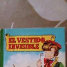 Libros antiguos: COLECCIÓN PARA LA INFANCIA EL VESTIDO INVISIBLE ILUSTRADO POR CIFRÉ Y SABATÉS BRUGUERA 1959. Lote 195085682