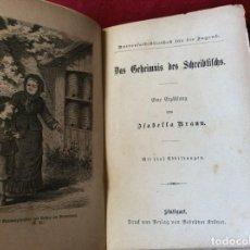 Libros antiguos: EL SECRETO DEL ESCRITORIO: UNA HISTORIA, POR ISABELLA BRAUN; 1880, 1.ª EDICIÓN. MUY ESCASO. . Lote 195107826