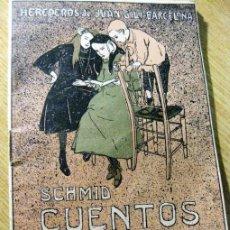 Libros antiguos: SCHMID CUENTOS CUADERNO X . ED JUAN GILI. Lote 195150455
