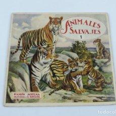 Libros antiguos: CUENTO ANIMALES SALVAJES, ED. RAMÓN SOPENA, AÑOS 20-30 MIDE 20 X 22 CMS. TIENE 16 PAGINAS. ILUSTRACI. Lote 195183642