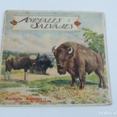 Libros antiguos: CUENTO ANIMALES SALVAJES, N. 3, ED. RAMÓN SOPENA, AÑOS 20-30 MIDE 20 X 22 CMS. TIENE 16 PAGINAS. ILU. Lote 195183943