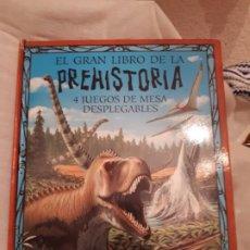 Libros antiguos: PREHISTORIA.LIBRO JUGUETE. Lote 195263606