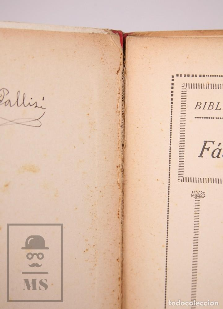 Libros antiguos: Antiguo Libro Ilustrado Biblioteca para Niños - Fábulas de Iriarte - Ramón Sopena - Foto 3 - 195263855