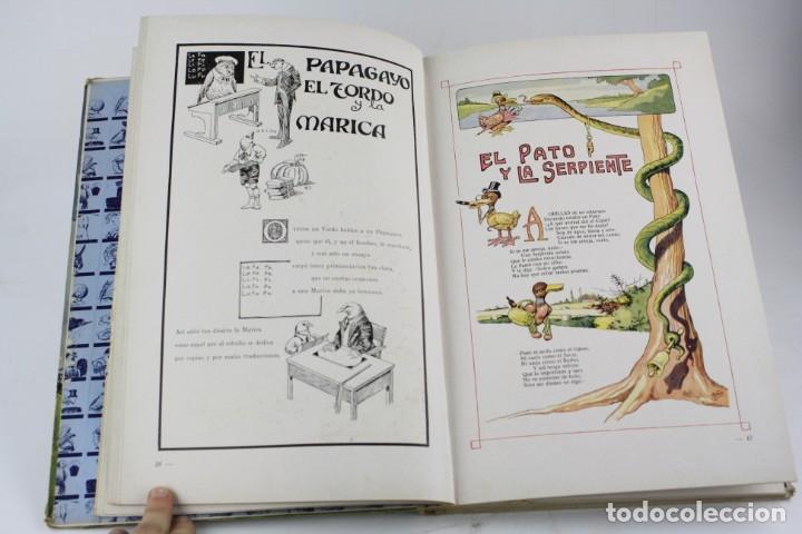 Libros antiguos: Fábulas de Iriarte, 1ª edición, 1933, ilustraciones Asha, Barcelona. 32,5x22,5cm - Foto 3 - 195277401