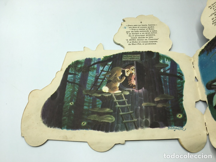Libros antiguos: Mari Pili en Biscuter , texto y dibujos Ferrándiz , Editorial Vilcar 1º edición - Foto 11 - 195296980